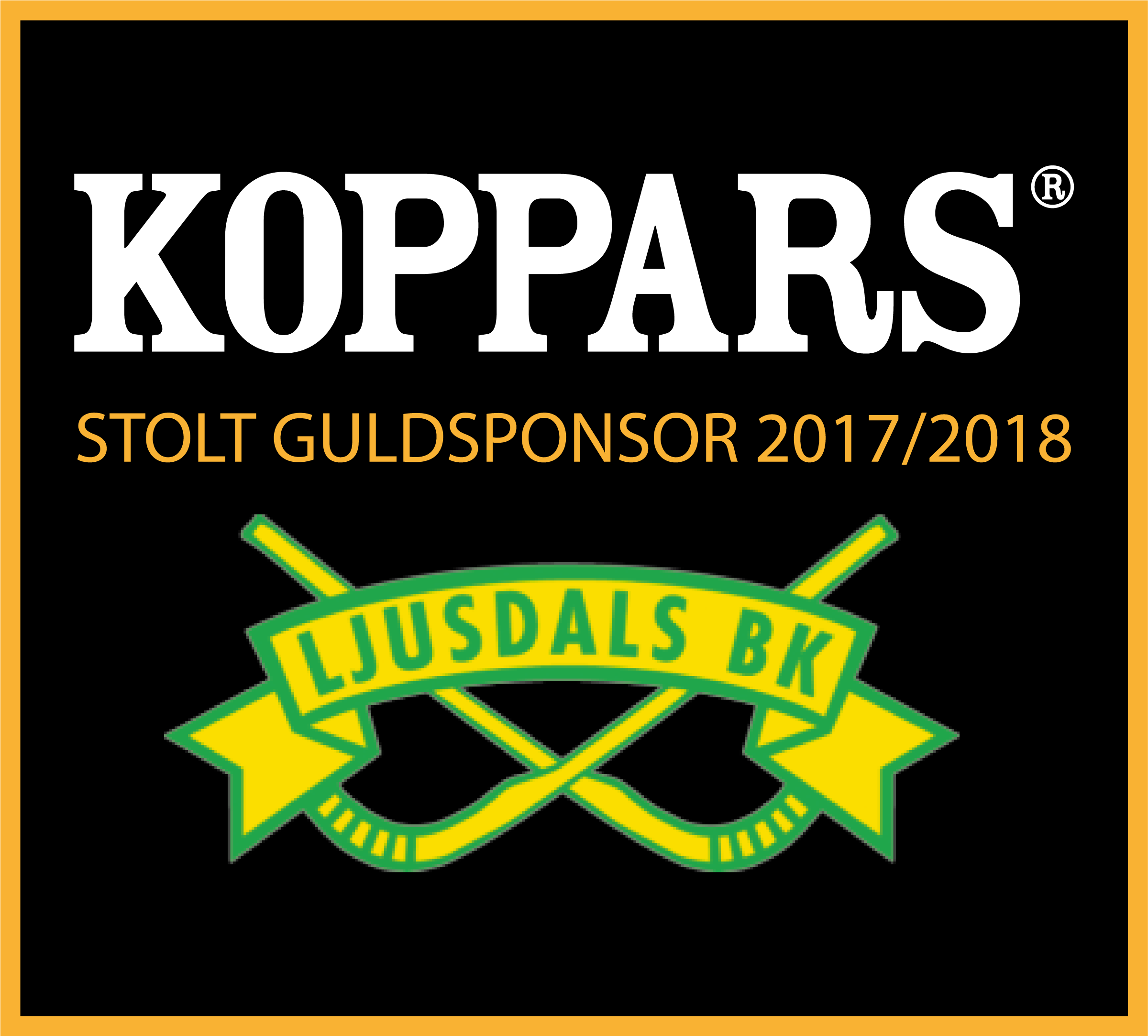 Guldsponsor till Ljusdals Bandy
